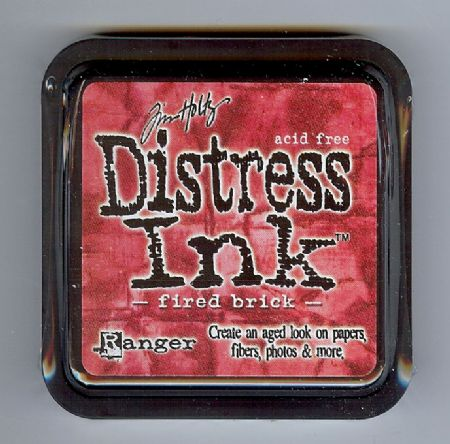 Tim Holtz Distress Ink Pad from Ranger - Fired Brick